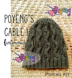 KIT Reguler: Cable Hat Knitting Kit
